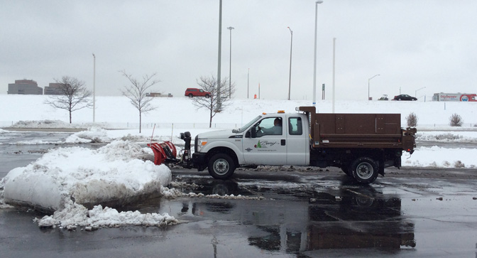 Snow & Ice Removal | Beary Landscape Management